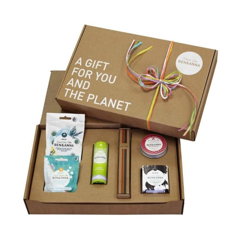Box Cadeau - For you and the planet - Ben & Anna